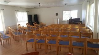 Möblerad konferensdel